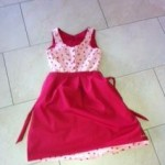 rosa Dirndl