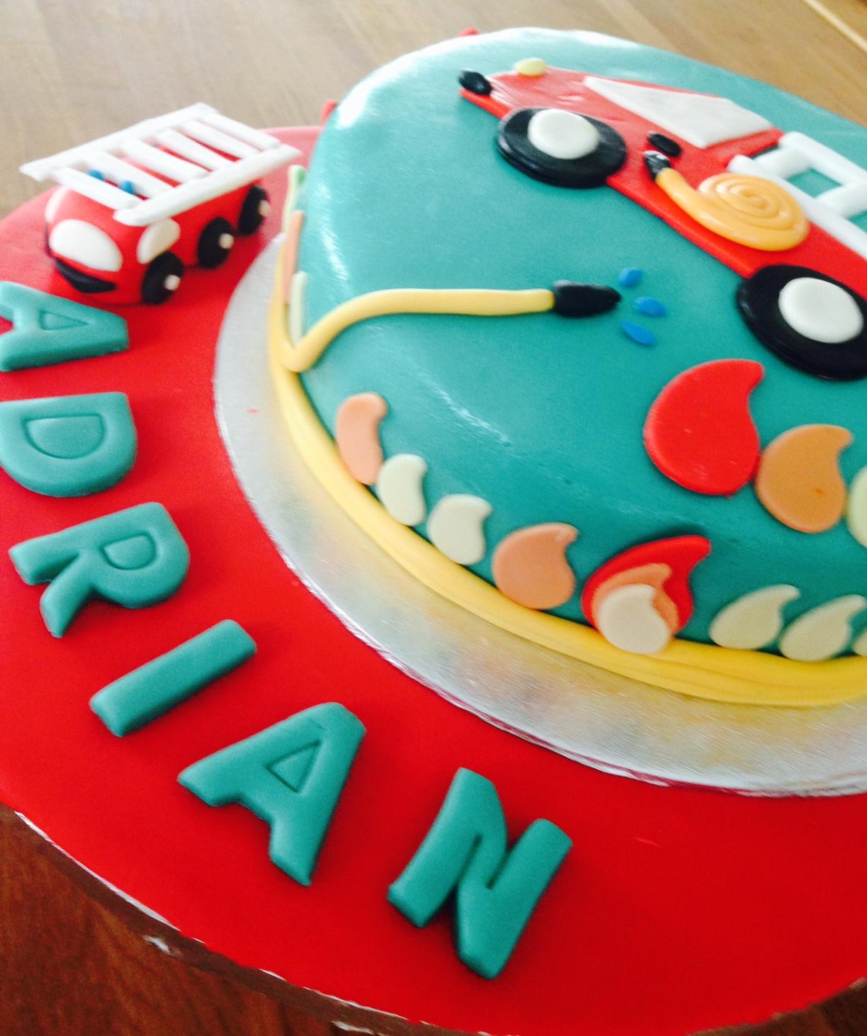 Geburtstagswunsch Feuerwehrkuchen Eluni Einfach Schon Und