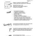 Flyer Handlettering Grundlagen 12.4.19
