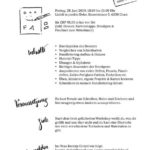 Flyer Handlettering Grundlagen. 28.6.19